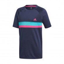 Adidas Dh2775 T Shirt Club Color Bambino Abbigliamento Tennis Bambino