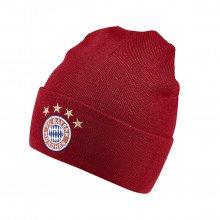 Adidas Di0246 Beanie Bayern Monaco 3 Stripes Squadre Calcio Uomo