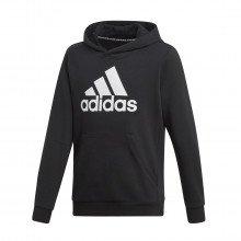 Adidas Dv0821 Felpa Con Cappuccio Logo Bos Bambino Abbigliamento Training E Palestra Bambino