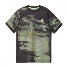 Adidas Ej7034 T-shirt Graph Us Open Bambino Abbigliamento Tennis Bambino