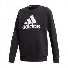 Adidas Fm6448 Felpa Girocollo Logo Bambino Abbigliamento Bambino