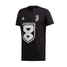 Adidas Ft5891 T-shirt Celebrativa Juventus 2019 Squadre Calcio Uomo