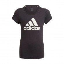Adidas Gn4069 T-shirt Logo Bambina Abbigliamento Bambino