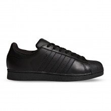 Adidas Originals Af5666 Superstar Total Black Tutte Sneaker Uomo
