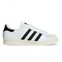 Adidas Originals G61070 Superstar 80s Bianche Tutte Sneaker Uomo