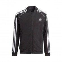 Adidas Originals Gn8451 Felpa Full Zip 3-stripes In Acetato Bambino Abbigliamento Bambino