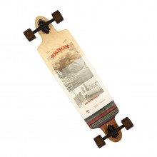 "Arbor Snowboards Abr Longboard Photo Dropcruiser 38"" Longboard Skateboarding Uomo"