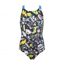 Arena 003560 G Playful Swim Pro Back One Piece L Costumi Piscina Bambino