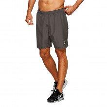"Asics 2011a018 Short 2in1 7"" Abbigliamento Running Uomo"
