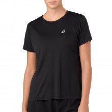 Asics 2012a029 T-shirt Silver Top Donna Abbigliamento Running Donna