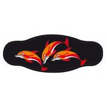 Best Divers In/3dol Cint. Mask Delfini Accessori Subacquea Unisex