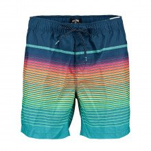 Billabong S1lb10 Boardshort All Day Stripe Lb Mare Uomo