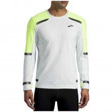 Brooks 211354 Maglia Manica Lunga Carbonite Run Visible Abbigliamento Running Uomo