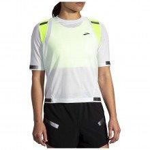 Brooks 221495 T-shirt Carbonite Run Visible Donna Abbigliamento Running Donna