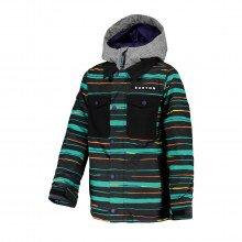 Burton 115811 Giacca Uproar Bambino Abbigliamento Snowboard Bambino