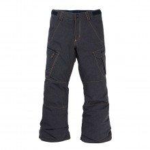 Burton 11589104 Pantaloni Exile Cargo Bambino Abbigliamento Snowboard Bambino