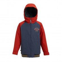 Burton 130421 Giacca Gameday Bambino Abbigliamento Snowboard Bambino