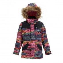Burton 150321 Giacca Aubrey Parka Bambina Abbigliamento Snowboard Bambino