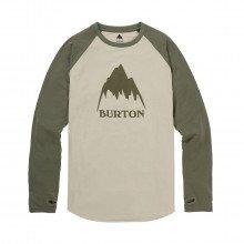 Burton 153771 Maglia Manica Lunga Roadie Tech Abbigliamento Snowboard Uomo