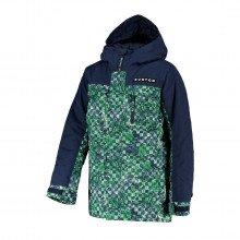 Burton 205371 Giacca Convert Bambino Abbigliamento Snowboard Bambino