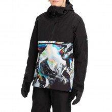 Burton 22738100 Giacca Anorak Gore-tex Pillowline Donna Abbigliamento Snowboard Donna