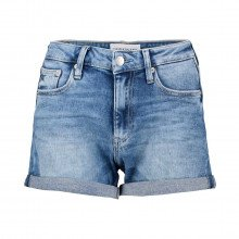 Calvin Klein Jeans J20j215904 Shorts Mid Rise Short Rolled Donna Casual Donna