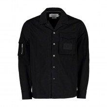 Calvin Klein Jeans J30j318191 Giacca Camicia Utility Overshirt Casual Uomo