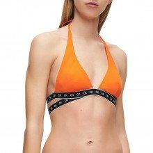 Calvin Klein Underwear Kw0kw00904 Reggiseno Triangolo High Apex Donna Mare Donna