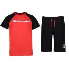 Champion 304888 Completo Mc + Pant Jersey Bambino Abbigliamento Bambino
