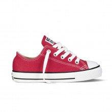 Converse 3j236 Chuck Taylor All Star Ox Rosse Bambino Tutte Sneaker Bambino
