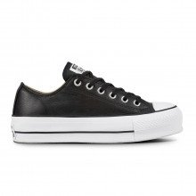 Converse 561681c Chuck Taylor All Star Lift Ox Clean Leather Donna Tutte Sneaker Donna