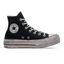 Converse 564527c Chuck Taylor All Star Platform Smoked Hi Donna Tutte Sneaker Donna