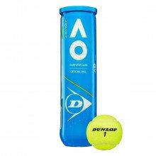 Dunlop 601355 Palline Australian Open Palline Tennis Uomo