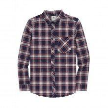 Element Q1sha3 Camicia Lumber Classic Street Style Uomo