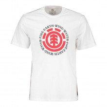 Element Q1ssa8 T-shirt Seal Street Style Uomo