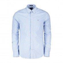 Gant 3046702 Camicia In Broadcloth Fantasia Vichy Casual Uomo