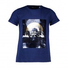 Guess J1gi06 T-shirt Paillettes Bambina Abbigliamento Bambino