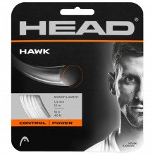 Head 281103 Hawk Black 1.25 Set Corde Tennis Uomo