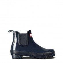 Hunter Wfs1043rgl Stivali Chelsea Blu Gloss Donna Tutti Stivali E Boot Donna