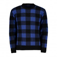 In The Box Fw200091 Maglione Girocollo Check Canada Casual Uomo