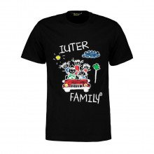 Iuter 20wits84 T-shirt Family Street Style Uomo