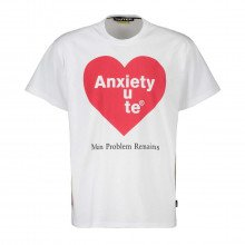 Iuter 21wits92 T-shirt Anxiety Street Style Uomo