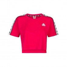 Kappa 303wgq0 T-shirt Crop 222 Banda Apua Bambina Abbigliamento Bambino
