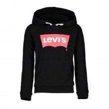 Levi's Nm15557 Felpa Basic Con Cappuccio Bambina Abbigliamento Bambino