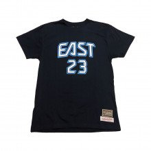 Mitchell & Ness Bnn3sc18158 T-shirt Name & Number Lebron James All Star Game 2009 Abbigliamento Basket Uomo