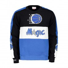 Mitchell & Ness Fcnkdf18025 Felpa Girocollo Scorer Fleece Magic Abbigliamento Basket Uomo