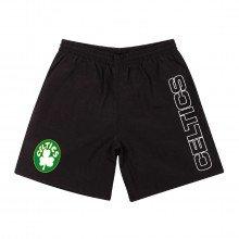 Mitchell & Ness Shoraj19015 Short Nylon Boston Celtics Abbigliamento Basket Uomo