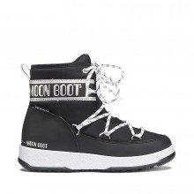 Moon Boot 34051200ps Moon Boot Low Nylon Wp Bambina Tutti Doposci Bambino