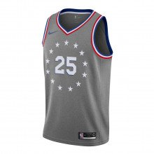 Nike Aj4636 Canotta Nba City Edition 76ers Simmons Squadre Basket Uomo
