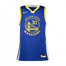 Nike B7bz2p Canotta Curry Warriors Bambino Squadre Basket Bambino